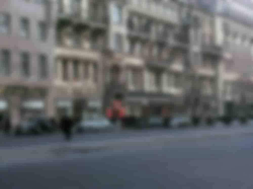Фасади на вулиці Горького (нині – Тверська) в Москві