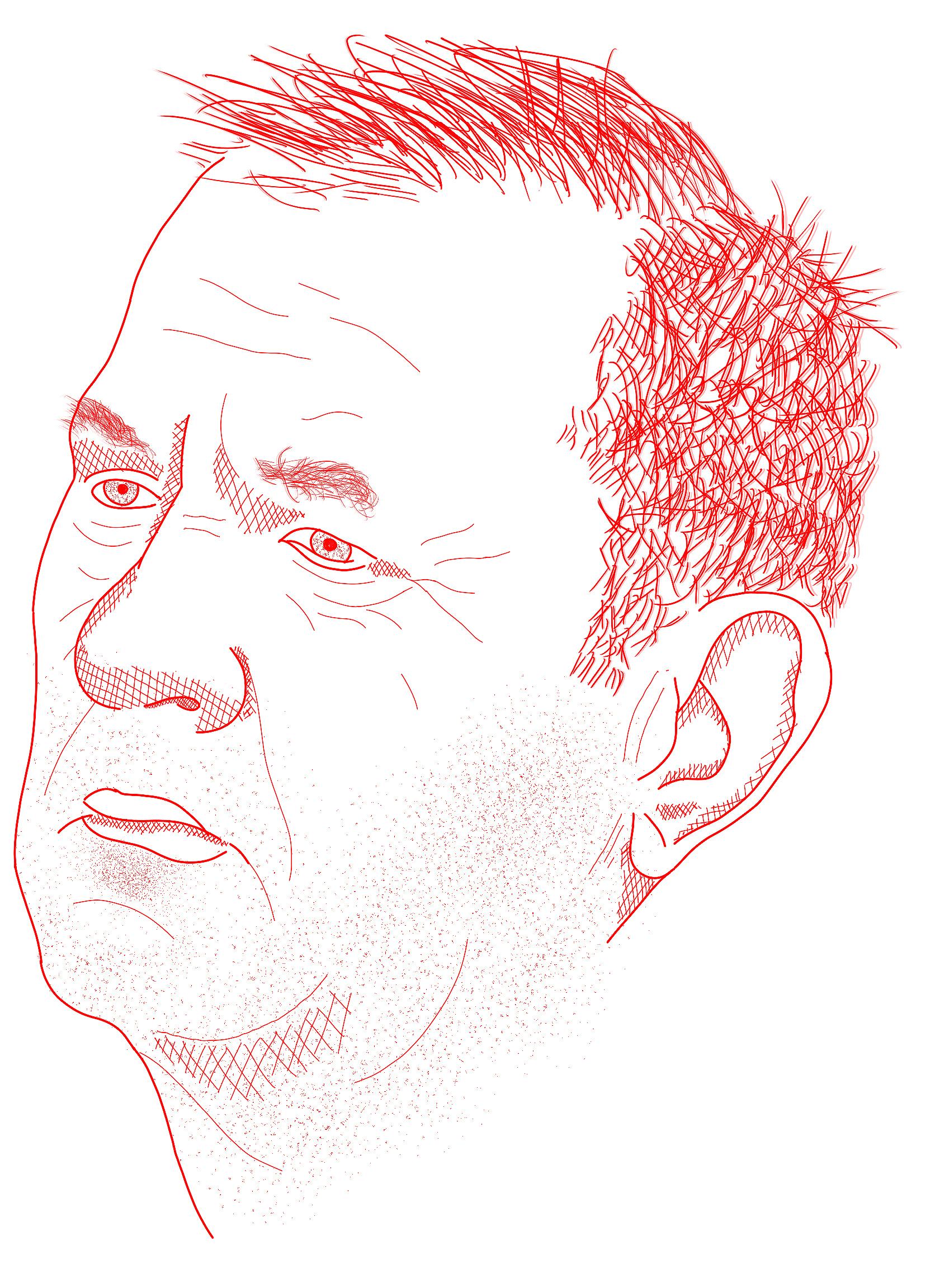 The likeness of Dmytro Rossoshansky.