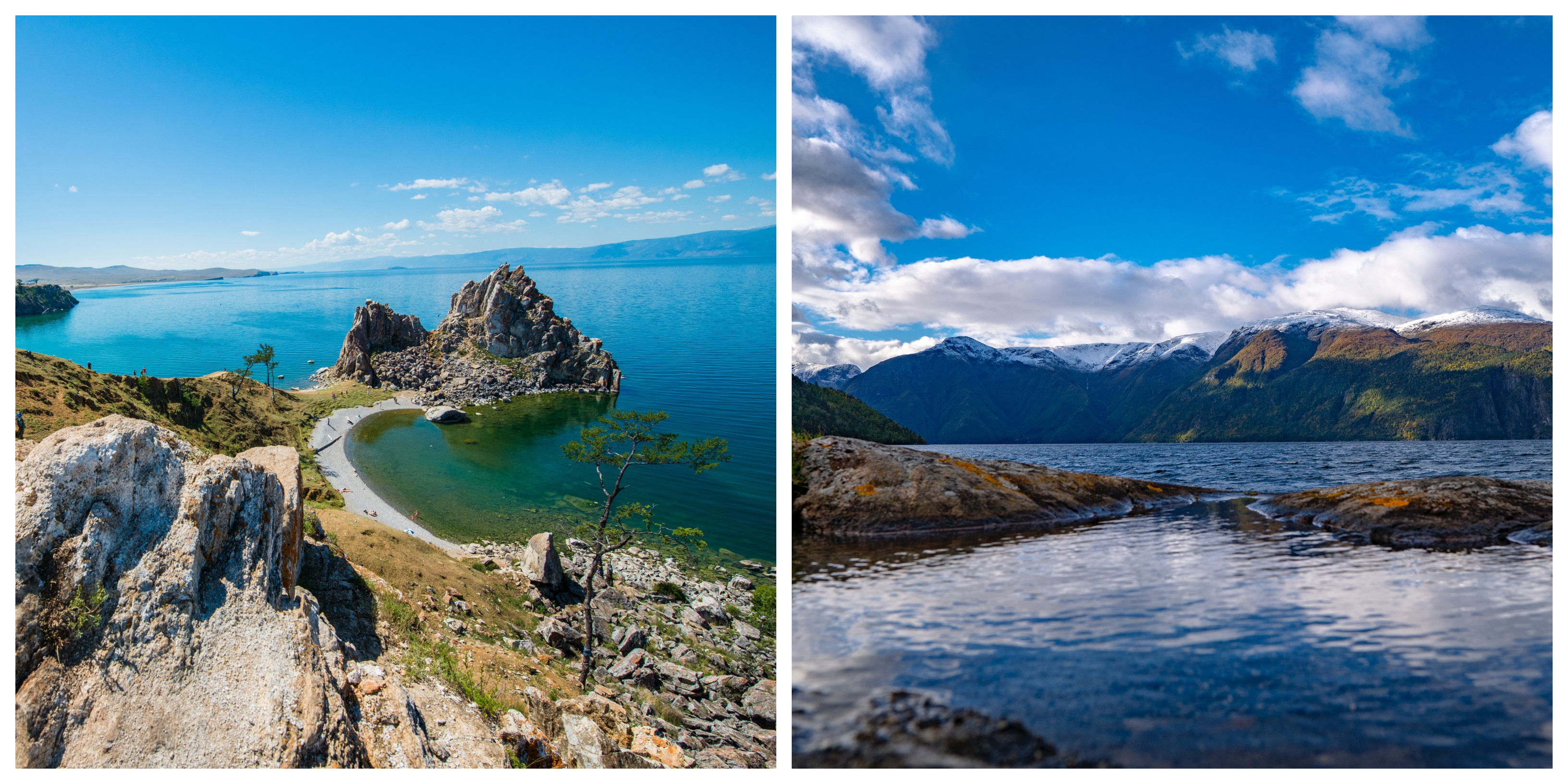 Где озеро Байкал?
