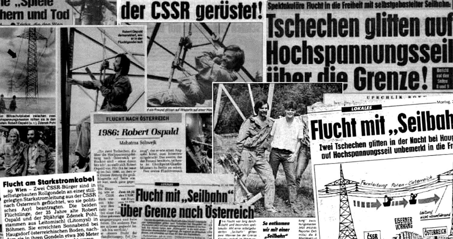 News of the feat was splashed across papers around the world. (Daniel Pohl archive)