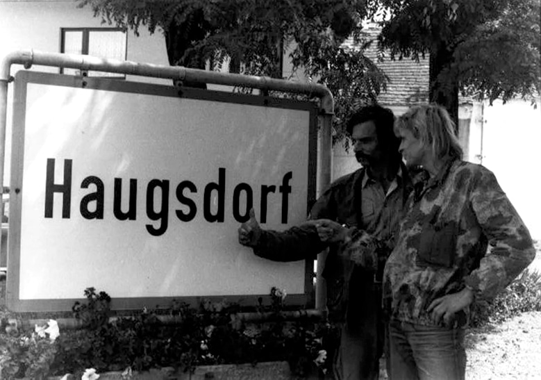 Pohl and Ospald crossed into Austria near the town of Haugsdorf. (Daniel Pohl archive)