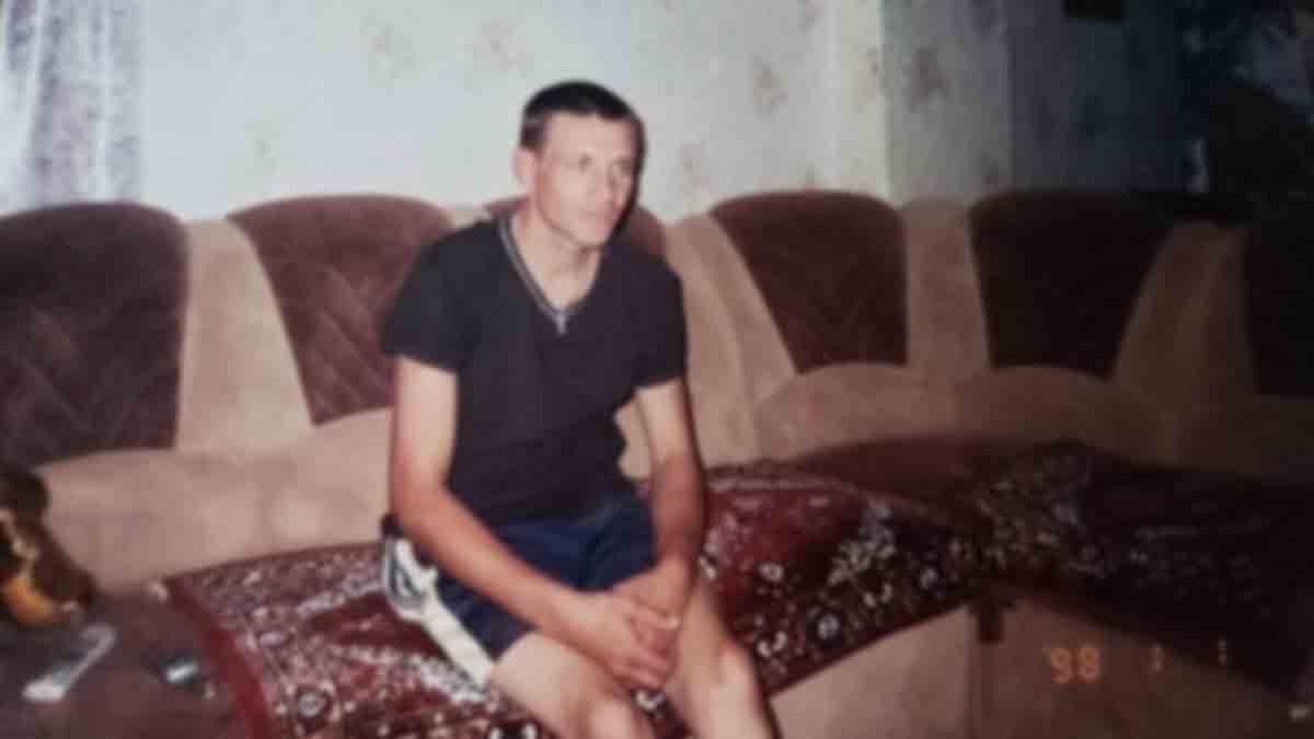 Oleksiy Pichko at his home in Slovyansk.